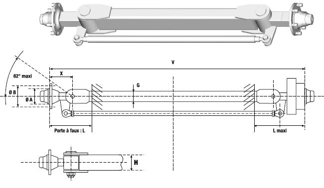 steering axles 2